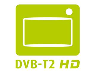 DVB T2 HD Logo