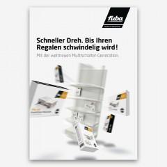 Fuba Erweiterbare Multischalter Prospekt DIN A4, 1 Stck.