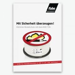 Fuba Flyer - KKB 730 Brandschutz Koaxkabel