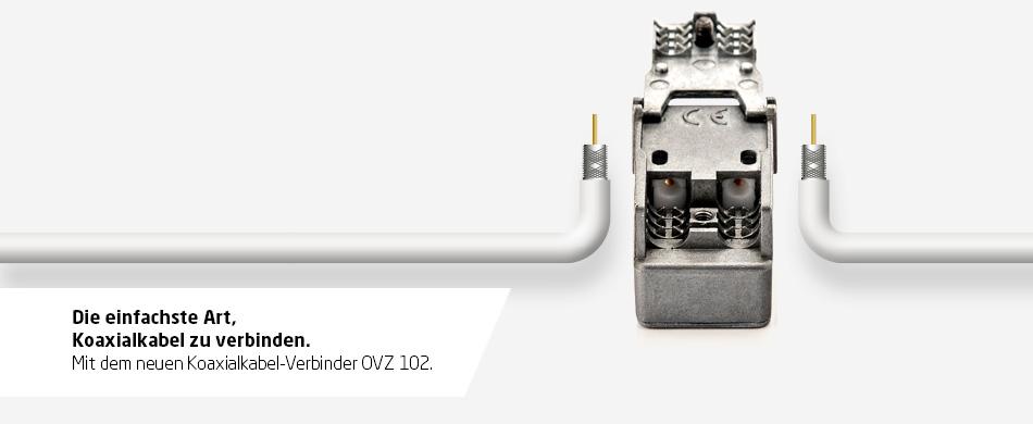 Koaxialkabel-Verbinder OVZ 102